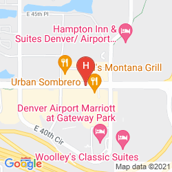 Map HYATT PLACE DENVER AIRPORT