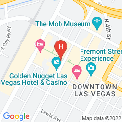 Map GOLDEN NUGGET