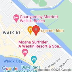 Original Url Http Photo1 Hotelsclick Maps 43598 Map Hotel Aqua Waikiki Pearl Hawaii Oahu Png