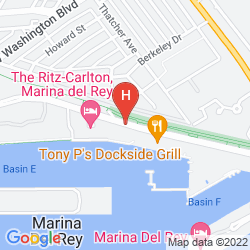 Map THE RITZ CARLTON MARINA DEL REY