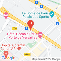 Map ADAGIO CITY APARTHOTEL PARIS XV