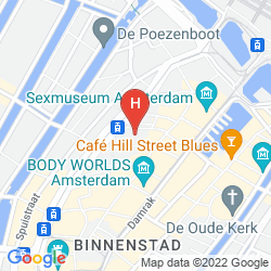 Map INNTEL HOTELS AMSTERDAM CENTRE