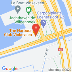 Map GOLDEN TULIP AMSTERDAM VINKEVEEN