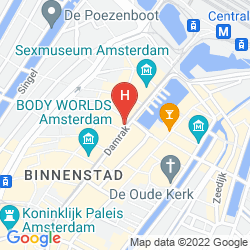 Map AMSTERDAM HOTEL DELTA CITY CENTER