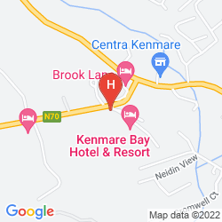 Map KENMARE BAY HOTEL & RESORT