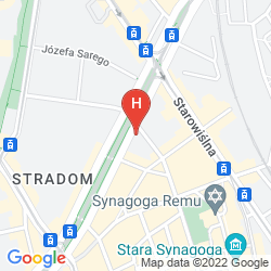 krakow old town map pdf