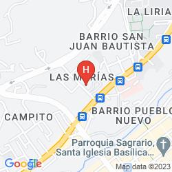 Map LOS FRAILES