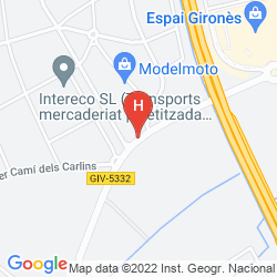 Map EXPRESS BY HOLIDAY INN GIRONA