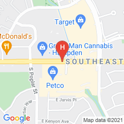 Map EMBASSY SUITES DENVER SE