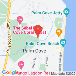 Map NOVOTEL PALM COVE RESORT