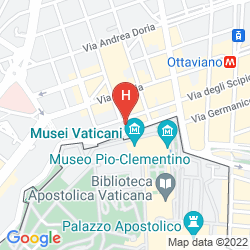 Map ALIMANDI VATICANO