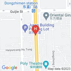 Map ASCOTT RAFFLES CITY