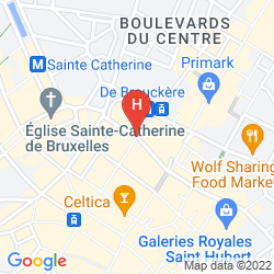 Map ADAGIO CITY APARTHOTEL BRUSSELS CENTRE MONNAIE