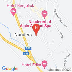 Map BEAUTY  &  SPORTHOTEL TIROLERHOF