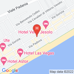 Map HOTEL ACAPULCO BEACH