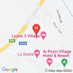 Map LOANO 2 VILLAGE