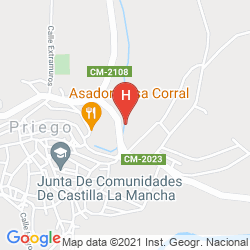 Map HOTEL RURAL EL ROSAL