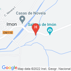 Map HOTEL AND SPA SALINAS DE IMON