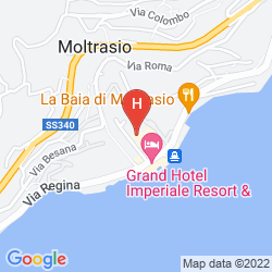 Map GRAND HOTEL IMPERIALE