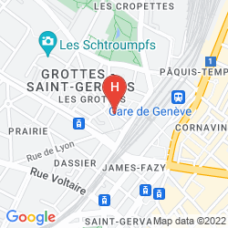 Map HOTEL MONTBRILLANT