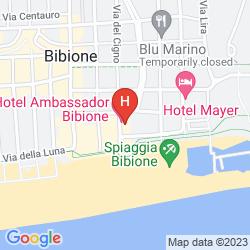 Map HOTEL AMBASSADOR