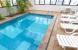 Indoor Swimmingpool: Hotel TRANSAMERICA FLAT HIGIENOPOLIS CLASSIC Zone: Sao Paulo Brazil